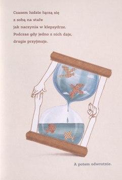 """Excerpt of a page from """"Dwoje Ludzi"""" by Iwona Chmielewska"""