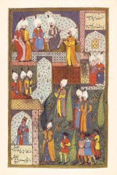 Süleyman the Magnificent Receiving the Austrian Envoy