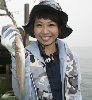 5代目 アングラーズアイドル 石川文菜さん