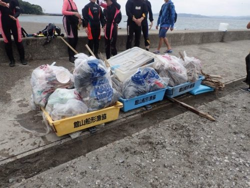 海のゴミと陸のゴミ