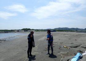 沖ノ島の海の様子3