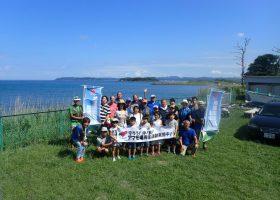 沖ノ島アマモ場再生活動!アマモの種子選別会を行いました。