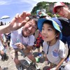 梅雨の合間に鎌倉海岸生物観察会