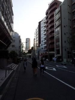 entering shibuya