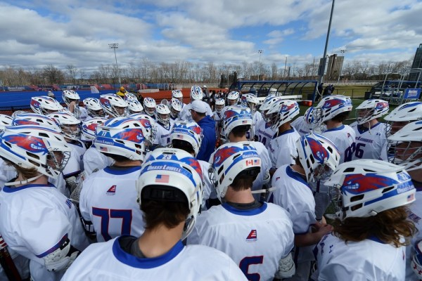 Men's Lacrosse falls to Stony Brook 12-11 in overtime loss