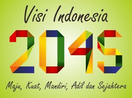 رؤية إندونيسيا 2045   بالإنكليزية