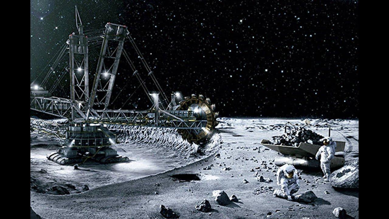 خطط لتعدين القمر بحلول العام 2025