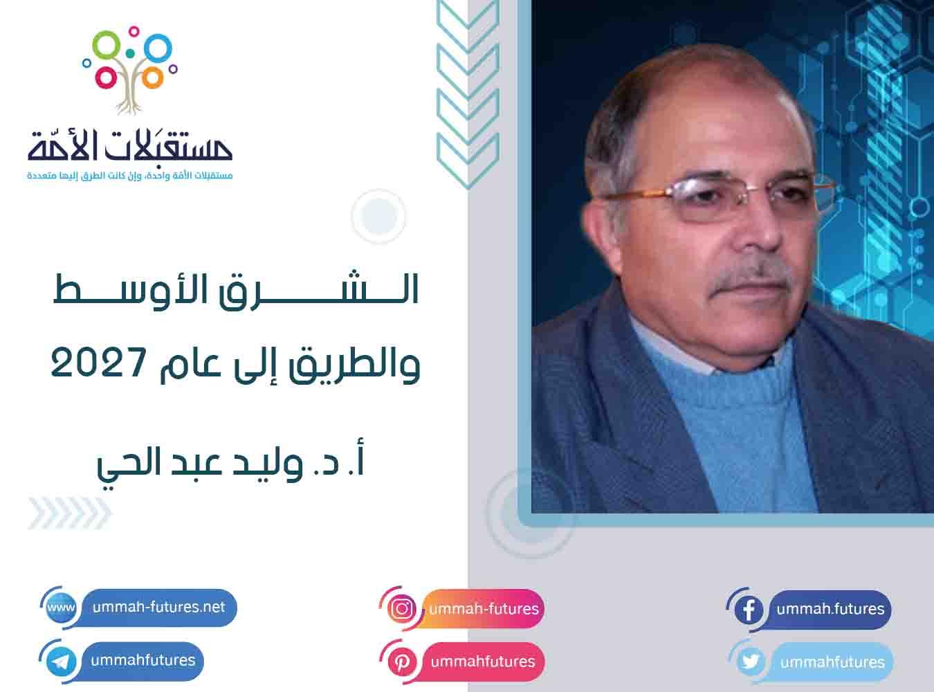 الشرق الأوسط والطريق إلى عام 2027 | أ. د. وليد عبد الحي