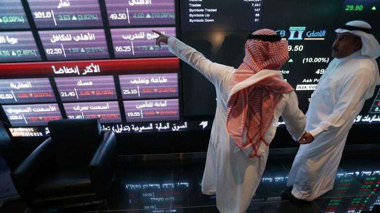 نسبة النمو المتوقع في طائفة من الدول العربية في عام 2021