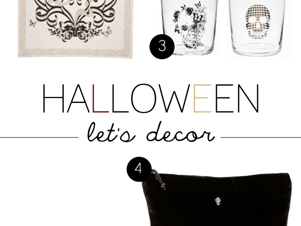 DECORATING FOR HALLOWEEN.