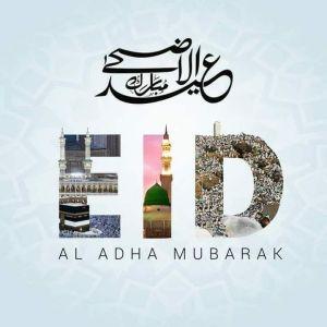 ईद उल अजहा / क़ुरबानी ईद मुबारक। Eid ul Adha Mubarak