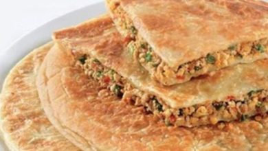 Photo of Breakfast with healthy stuffed keema parathas