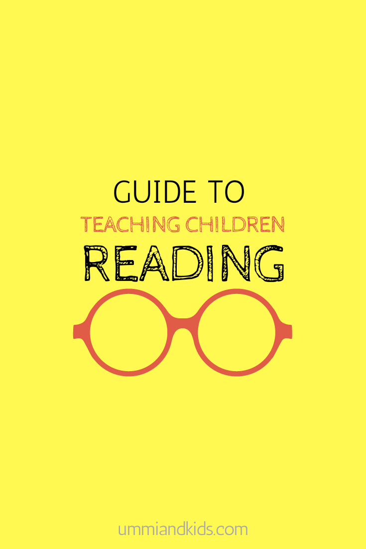 how to teach children reading