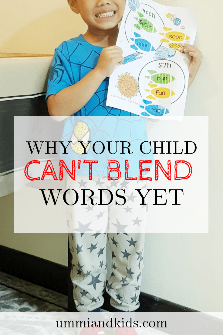 Blending words | Teaching kids how to read| Phonemic awareness