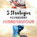 Strategies to prevent misbehavior in children