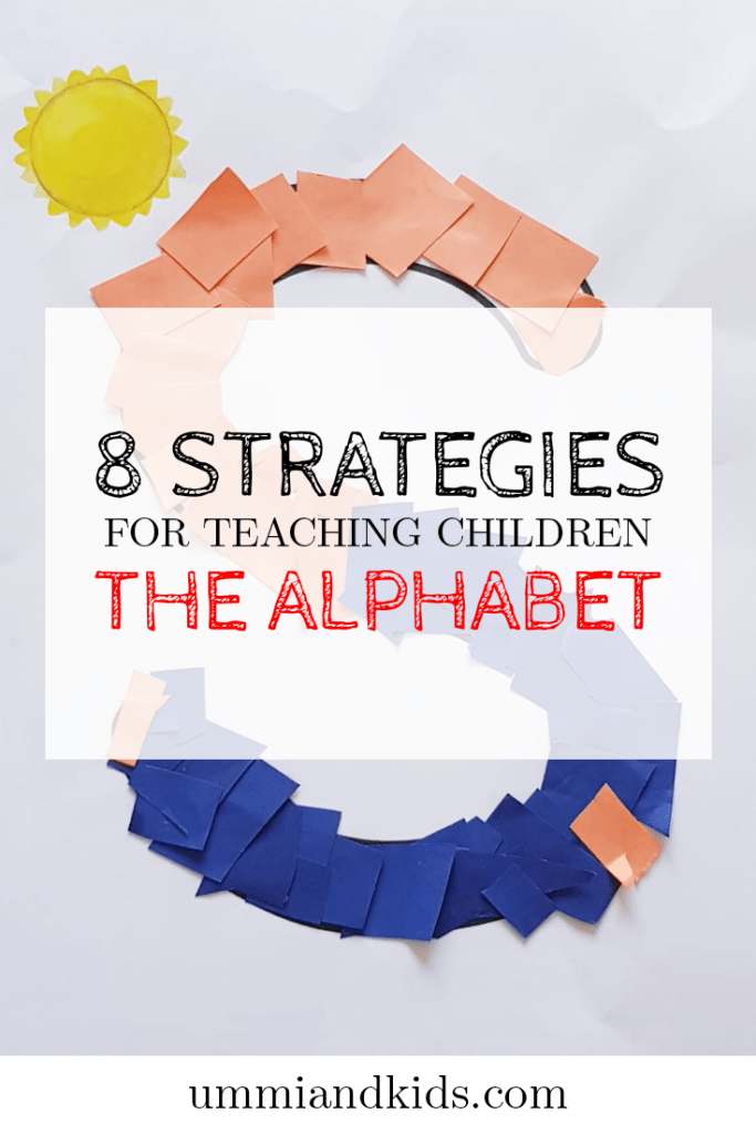 Strategies to teach the alphabet