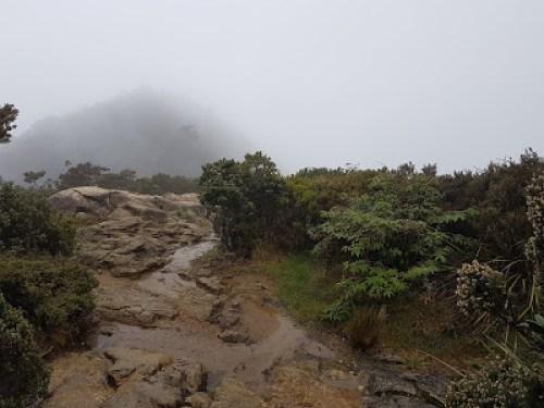 Misty Day on Mount Kinabalu