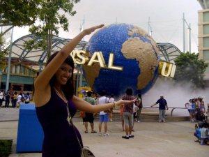 Me at Universal Studios Singapore