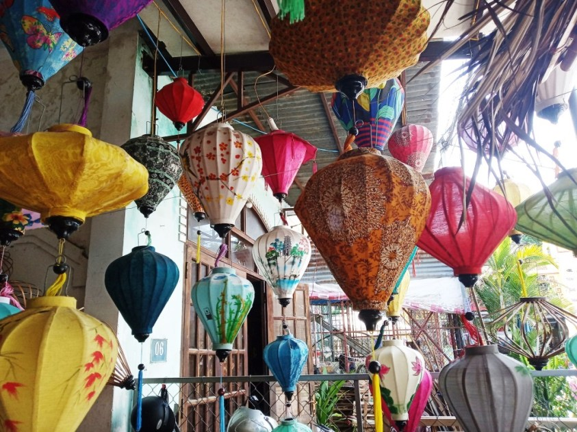 Various lantern shapes in Hoi An | Ummi Goes Where?