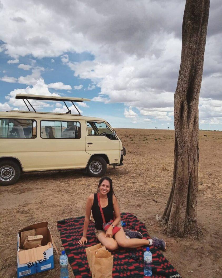 Masai Mara safari picnic