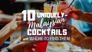 10 Types of Malaysian Cocktails | Ummi Goes Where?