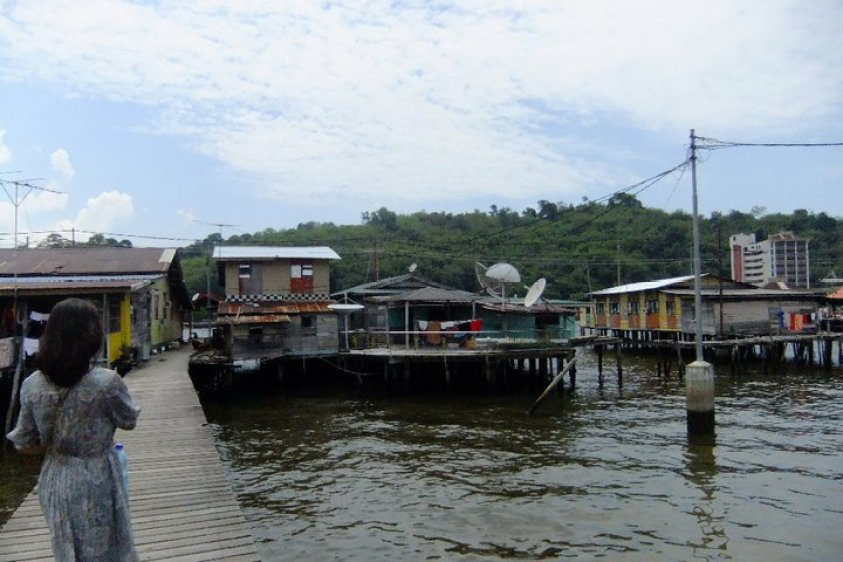 Kampong Ayer floating village Brunei