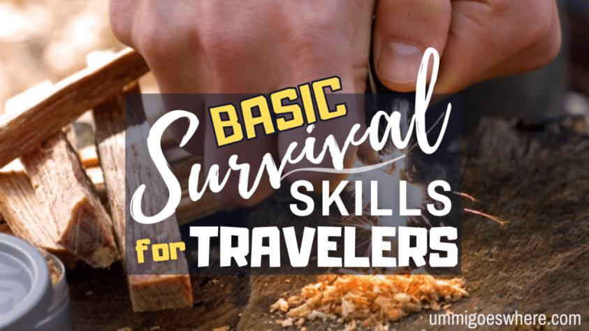 Learning Basic Survival Skills | Ummi Goes Where?
