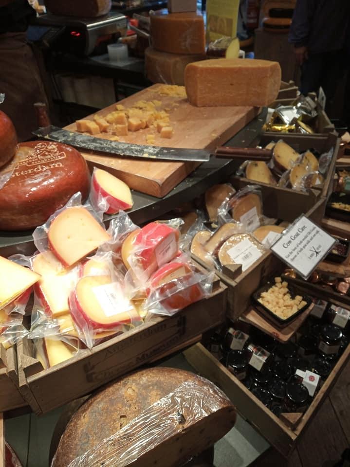 Amsterdam cheese museum.