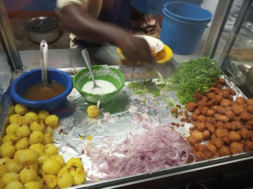 Zanzibari mix stall.