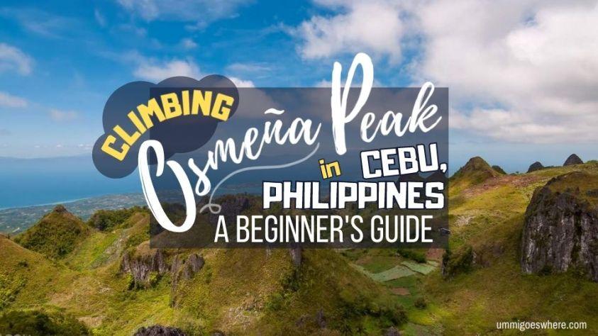 Climbing Osmena Peak Cebu Philippines