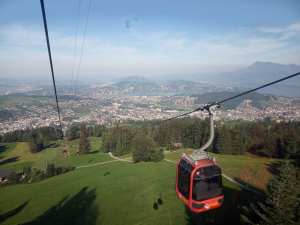 Mount Pilatus cable car
