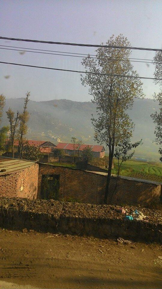 Bus view from Kathmandu to Pokhara Nepal | Ummi Goes Where?