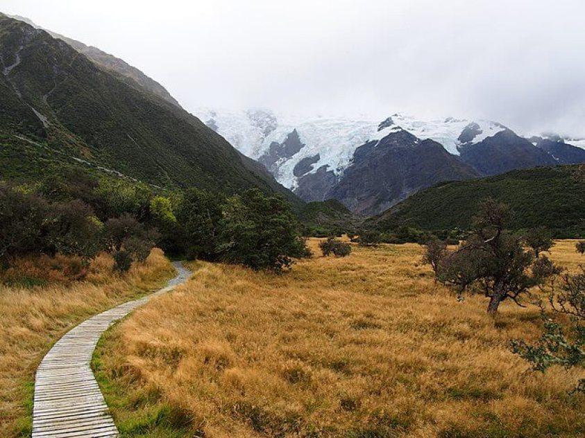 Kea Point Mount Cook New Zealand
