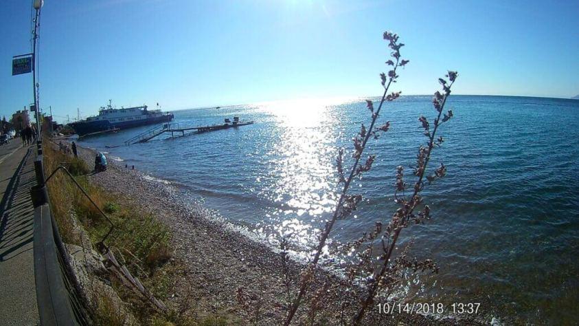 Lake Baikal in autumn
