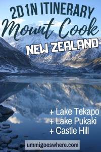 Mount Cook South Island New Zealand