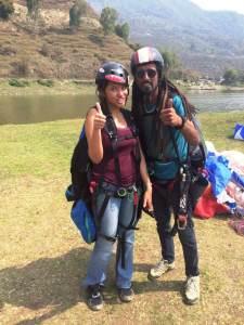Paragliding in Pokhara Nepal
