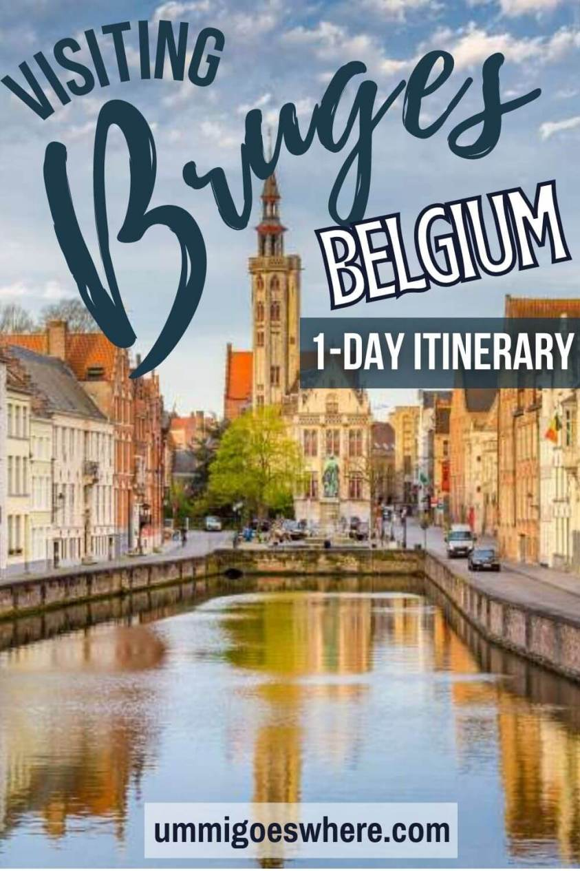 1 day in Bruges itinerary