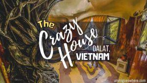 Crazy house Dalat Vietnam