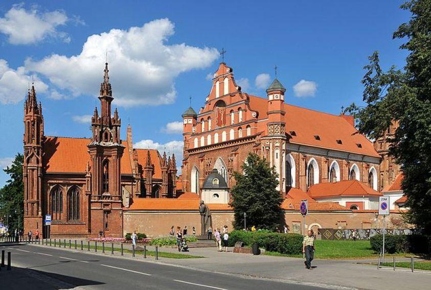 Church of St Anne & St Bernardine Vilnius