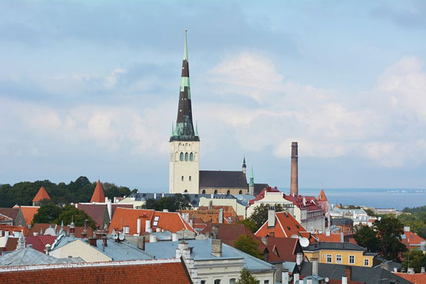 St. Olaf's Church, Tallinn Estonia
