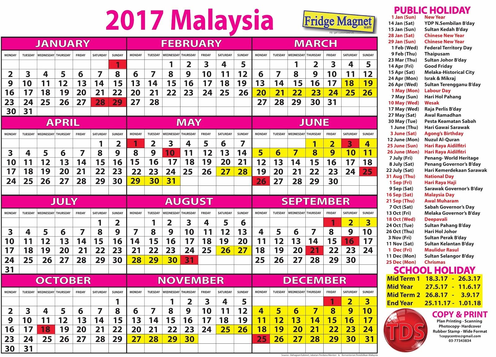 kalender cuti umum