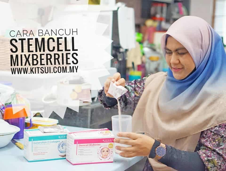 Kitsui Generation Two Collagen dan Stemcell Mixberries pelengkap terbaik