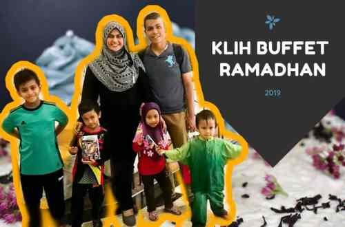 Buffet ramadhan di KLIH 2019