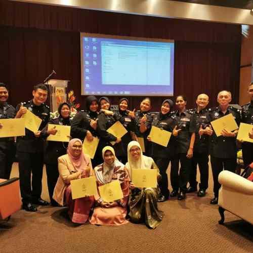 Kursus PHYSCOLOGICAL FIRST AID 2019 akrab pdrm inspektor asp nooraini ali bukit aman