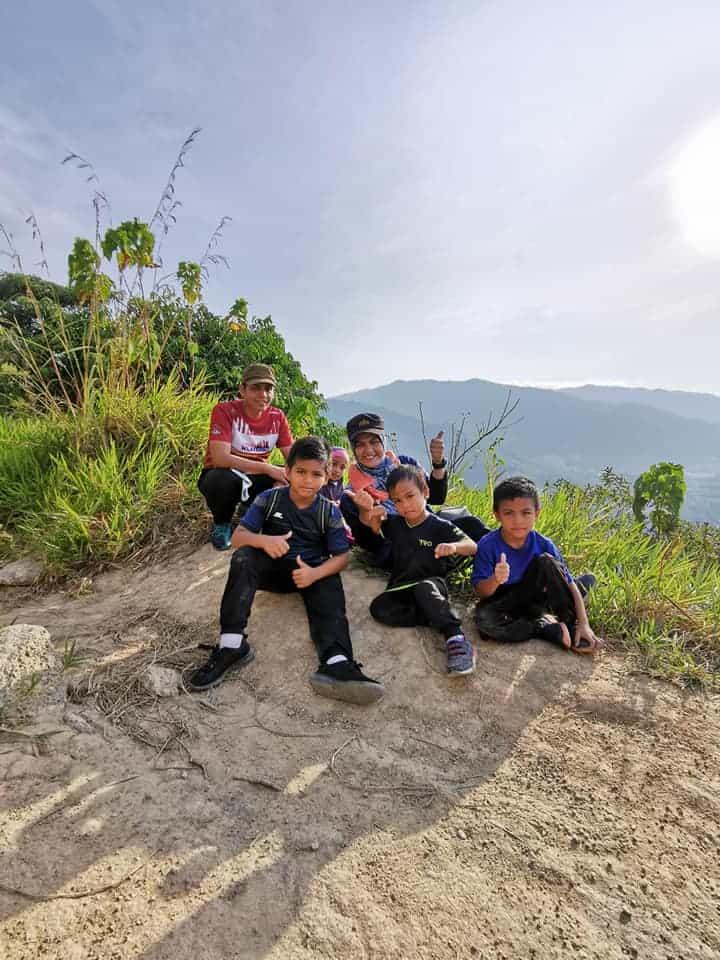 Bukit Broga tempat hiking  boleh bawa family