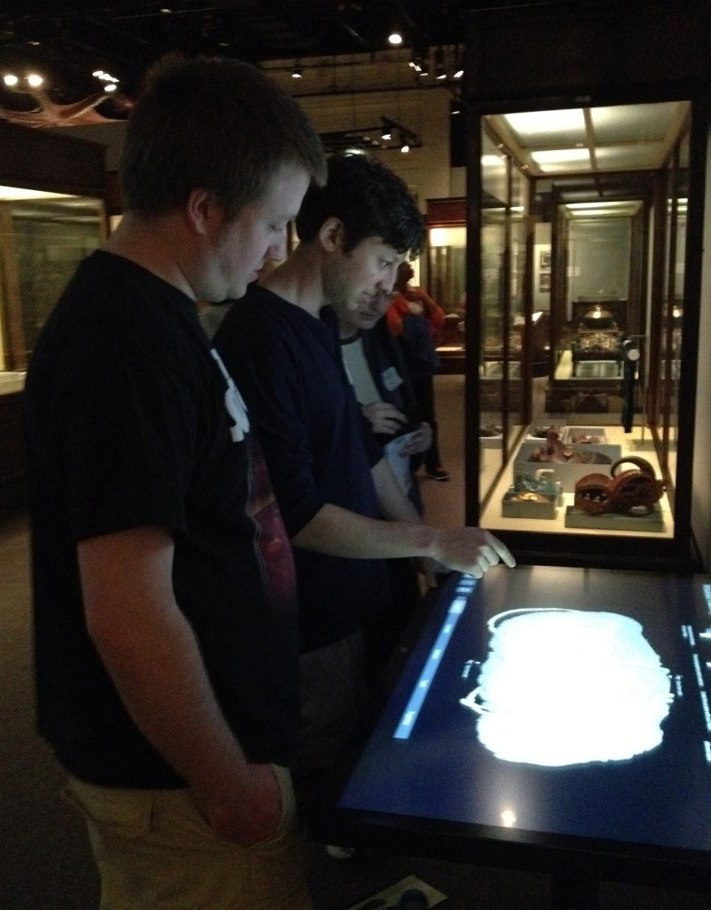 MSP13 Nick Malzahn and Jeremy Golubcow Teglasi at the Field Museum