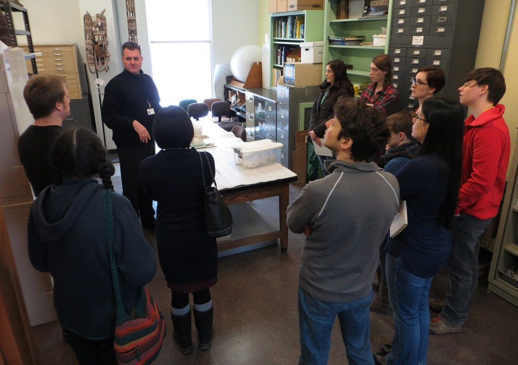 MSP13 with Dr. M. Stafford at Cranbrook Museum of Science
