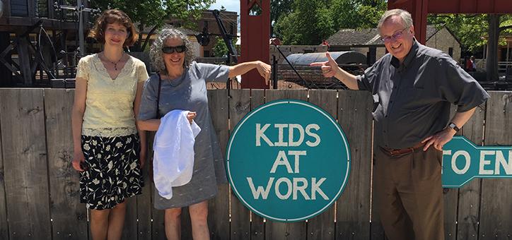 MSP staff at Greenfield Village