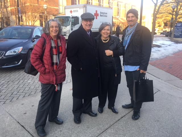 Carla Sinopoli, Brad Taylor, Elizabeth Chew and Frank Vagnone