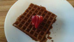 Buckwheat Waffles Plate